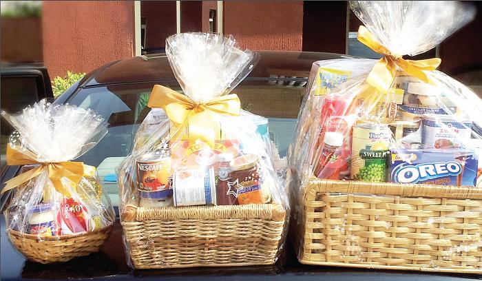 Ghanaian christmas food gift
