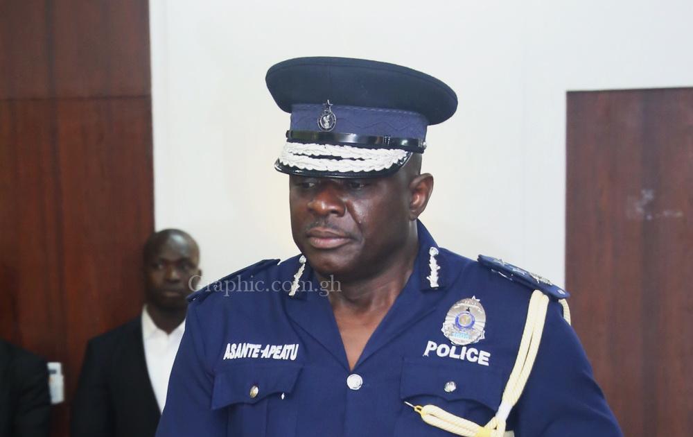 IGP, Mr David Asante Apeatu