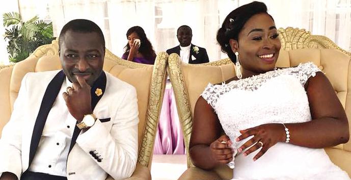 UTV's Ama Sarpong Kumankuma marries - Graphic Online