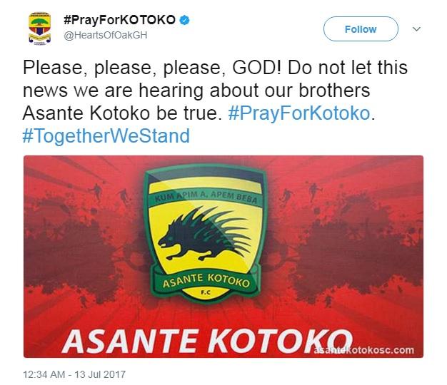 Akufo-Addo, Mahama, others sympathise with Kumasi Asante