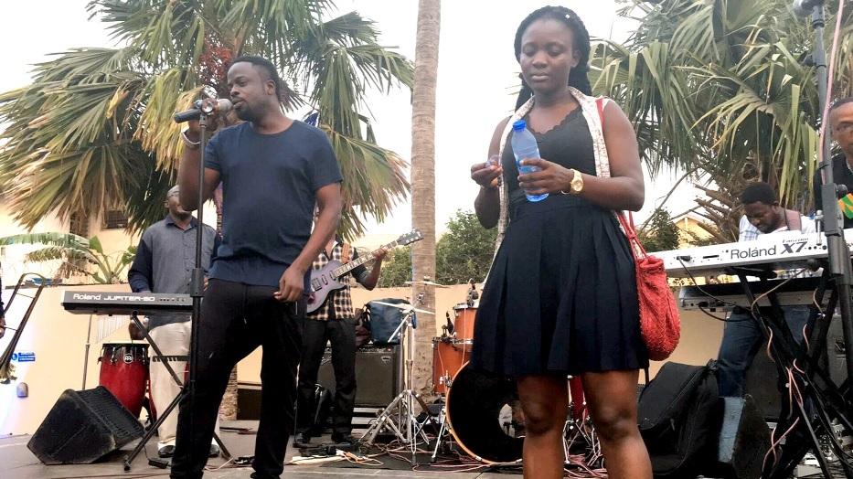 Ofori Amponsah and his band